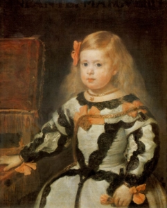 ディエゴ・ベラスケス「王女マルガリータの肖像」