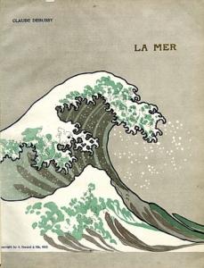 『海』初版スコアの表紙
