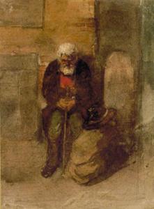 ヴィクトル・ハルトマン作「貧しきユダヤ人」