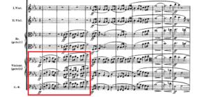 アルプス交響曲「登山の動機」譜例