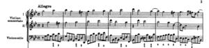 クリスマス協奏曲の譜例③