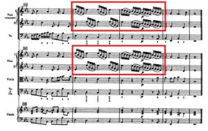 クリスマス協奏曲の譜例④