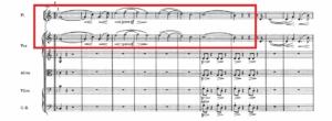 幻想交響曲第1楽章「イデー・フィクス」譜例