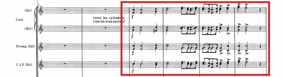 幻想交響曲第4楽章譜例