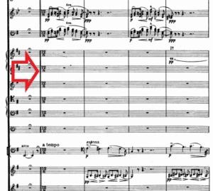 エルガーチェロ協奏曲第1楽章中間部