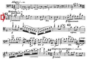 エルガーチェロ協奏曲第4楽章