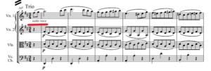アイネ・クライネ・ナハトムジーク 第3楽章トリオ