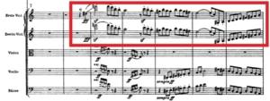 マーラー交響曲第5番第2楽章第1主題